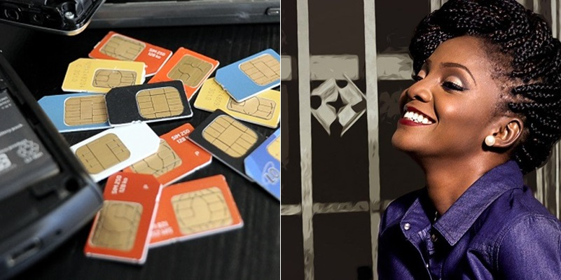 'They should block it' — Simi reacts to NCC's directive on SIM without NIN