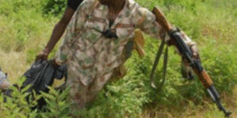 Soldier trailing Kidnappers found dead inside forest, in Oyo State