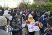 PHOTOS: Outrage as Nigerian man 'suffering from serious mental illness' is shot dead by police in Ireland