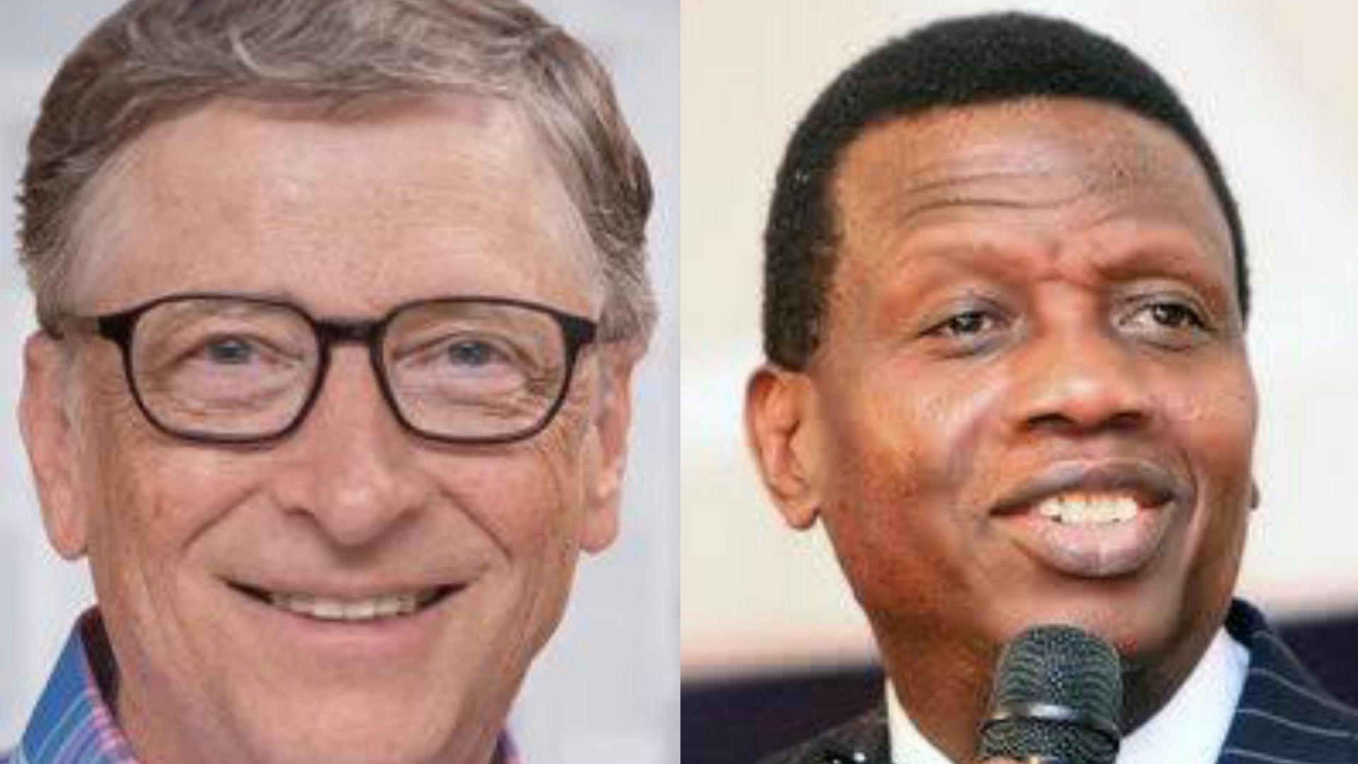 Pastor Adeboye to Bill Gates: We don't have money to fight COVID-19 but we have God