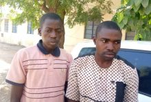 PHOTOS: Police arrest suspected fraudsters for posing as spirits to defraud their victims in Katsina