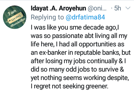 Patriotic Nigerian doctor turns down opportunity to move to Canada and stayed back to make her country work