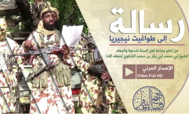 Boko Haram leader, Abubakar Shekau reacts to the appointment of new service chiefs
