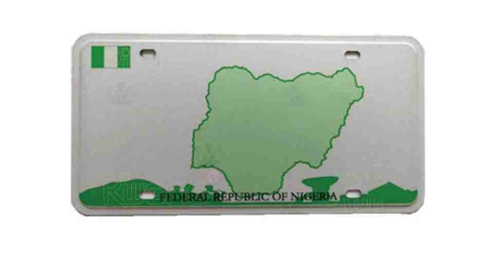 Customized Plate Number in Nigeria