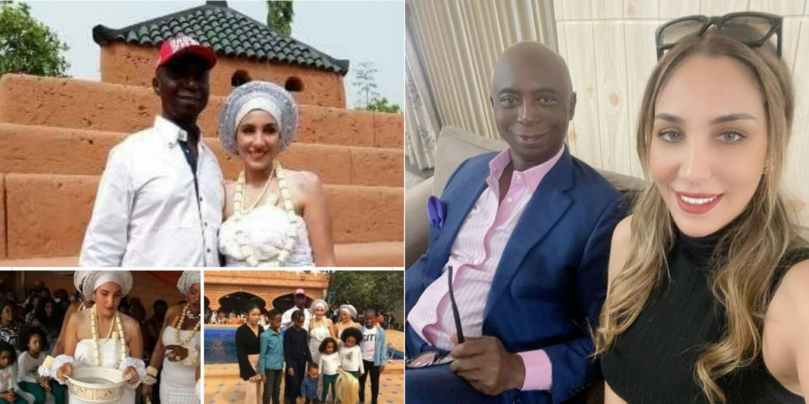 """""""It's been 10 beautiful years"""" Ned Nwoko counts down to his Moroccan wife's 30th birthday"""