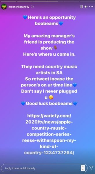 Moonchild Sanelly needs Country Music artists in SA – See details