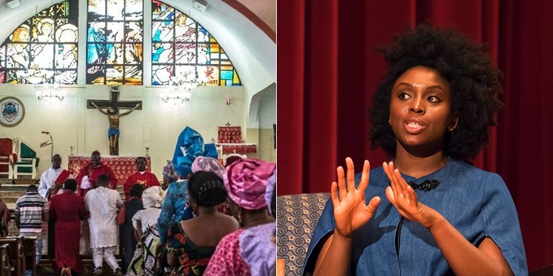 Chimamanda Adichie Reveals Why She Stopped Going To Church In Nigeria
