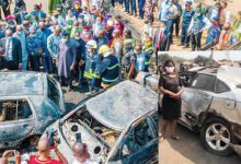 How we escaped being burnt to death in our vehicles — Ogun tanker fire survivors
