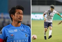 World's oldest professional footballer, Kazuyoshi Miura signs new contract with club at 53