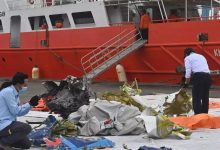 Police identifies four victims of Indonesian jet crash