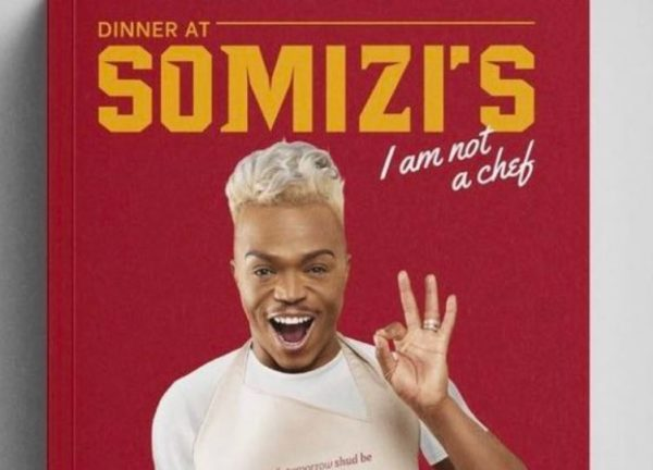 Somizi's cookbook is no. 1 on the chart in South Africa
