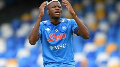 Victor Osimhen tests positive for COVID-19