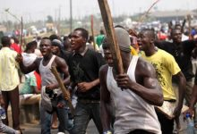 One dead as youths clash in Aguda area of Surulere