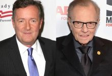 Piers Morgan's tribute to Larry King is so shady