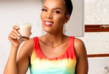 Mome Mahlangu shares before and after of her body size