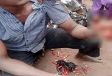 Police arrest motorcyclist for allegedly being in possession of ammunition in Delta