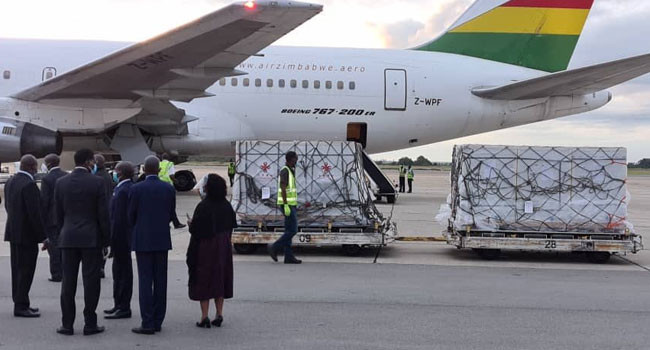 Zimbabwe receives first batch of COVID-19 vaccines