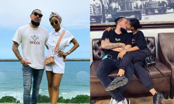 AKA gushes over his fiancé, Nelli Tembe