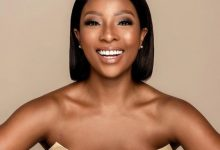 Pearl Modiadie hits back at trolls wanting to know the age gap between her and baby daddy