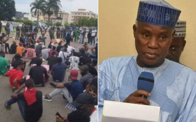 Defence Minister says some #EndSARS protesters are thieves and rogues