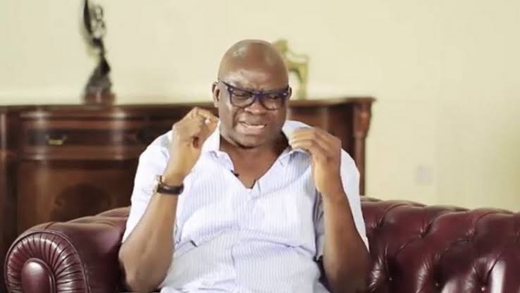 Any politician who leaves PDP for APC is driven by covetousness, says Fayose