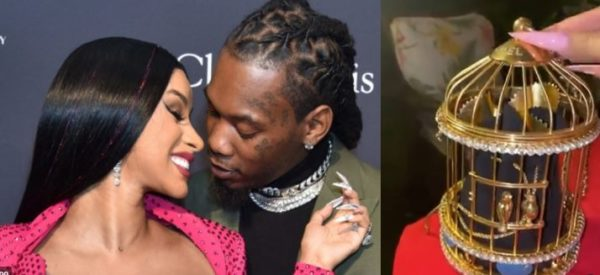 Cardi B's husband, Offset surprises her with a Chanel purse