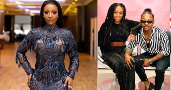 """Pearl Modiadie reacts to Priddy Ugly and Bontle's love story on """"Defining Love"""""""