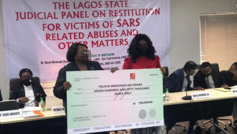 Lagos panel awards N16.25m to four victims of police brutality