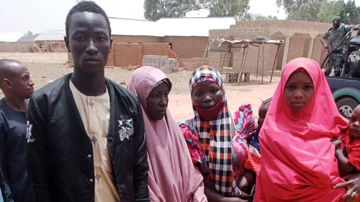 UPDATE: Photo, identities of victims rescued by police after foiling kidnap attempt in Kaduna