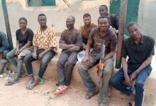 Police rescue eight kidnap victims, recover AK-49 rifle in Kaduna