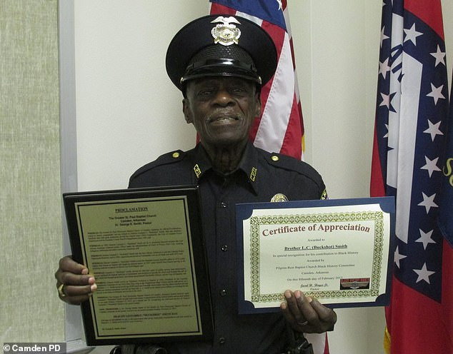 91-year-old police officer says he'll only retire 'when the good Lord says so'