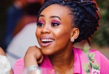 Bontle Modiselle gives singing a try (Video)