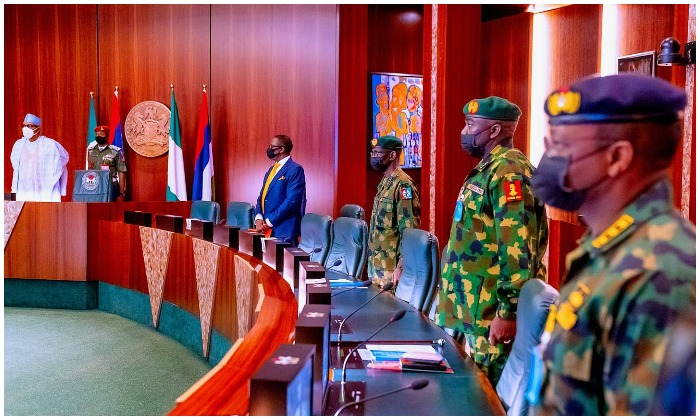 Buhari to Service chiefs: Take out bandits and their sponsors
