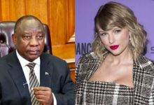 Mzansi reacts to edited video of Cyril Ramaphosa singing Taylor Swift's song