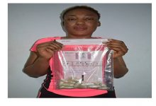 Chadian lady arrested with 234 grams of heroin hidden in her private part