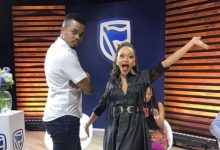 Thando Thabethe and Mpho Popps take dance lessons from Master KG (Video)
