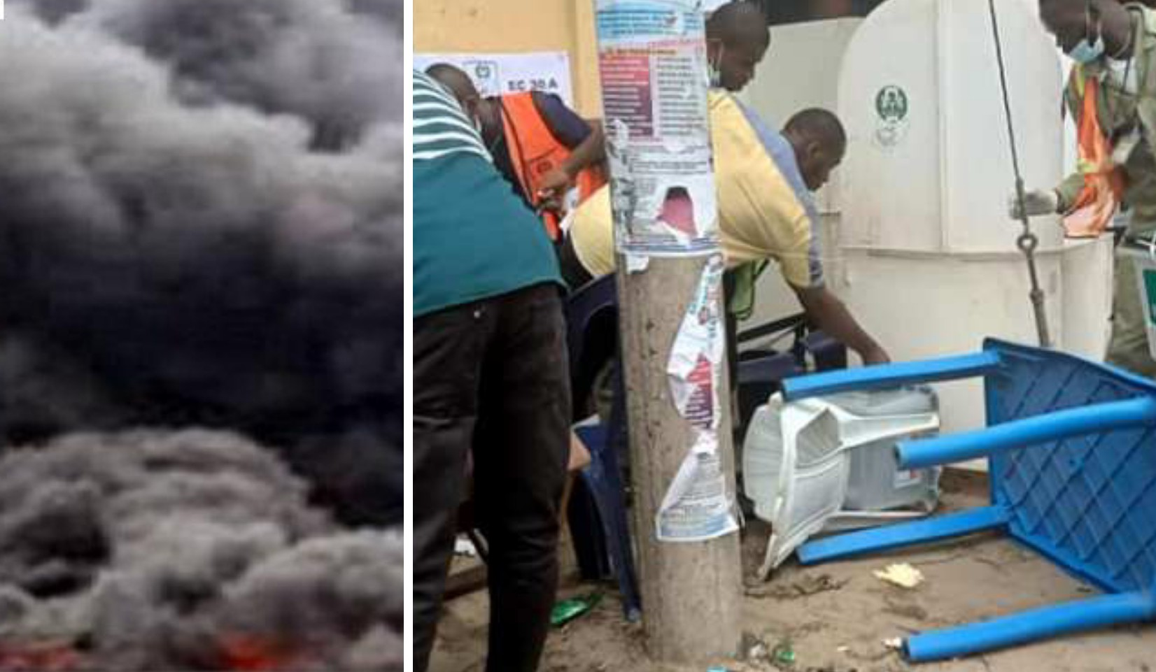 JUST IN: Explosion rocks Aba, disrupts bye-election