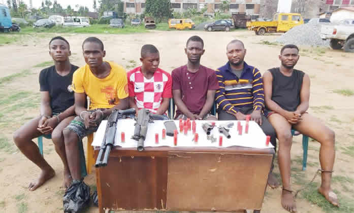 How we formed robbery gang during #EndSARS protest – Suspects