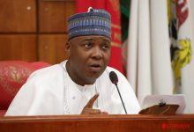 Saraki appeals to Nigerians to give PDP another chance in 2023