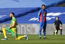 EPL: Wilfred Zaha becomes first player not to Kneel before a game