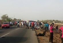 Truck crushes four students, Okada rider to death in Oyo