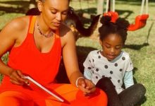 Pearl Thusi celebrates youngest daughter, Okuhle's birthday