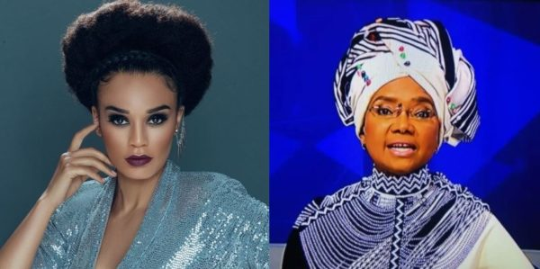 Pearl Thusi pens down beautiful message to Noxolo Grootboom following her exist