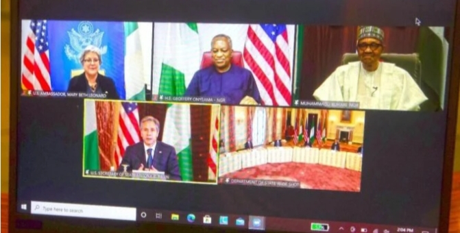 Insecurity: Relocate Africa command HQ, Buhari asks US