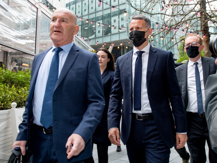 PHOTOS: Ryan Giggs pleads not guilty in first court appearance after being charged with assault