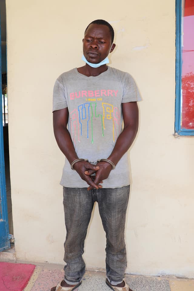 PHOTO: 40-year-old father of four arrested for allegedly raping minors in Niger state
