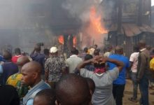 Traders count loses as fire razes another market in Ibadan