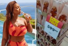 South Africans react to price of Boity's new alcoholic drink