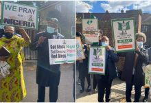 Buhari paid supporters £75 each to protest in London – Omokri