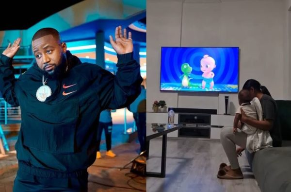 Cassper Nyovest worships another king in his home (Video)